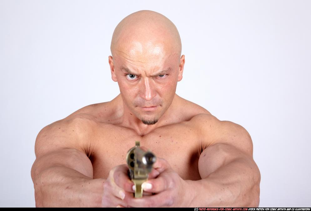 Image from Aggressive Muscular Guys - 86362009_11_barbarian2_standing_aiming_pistol_01.jpg