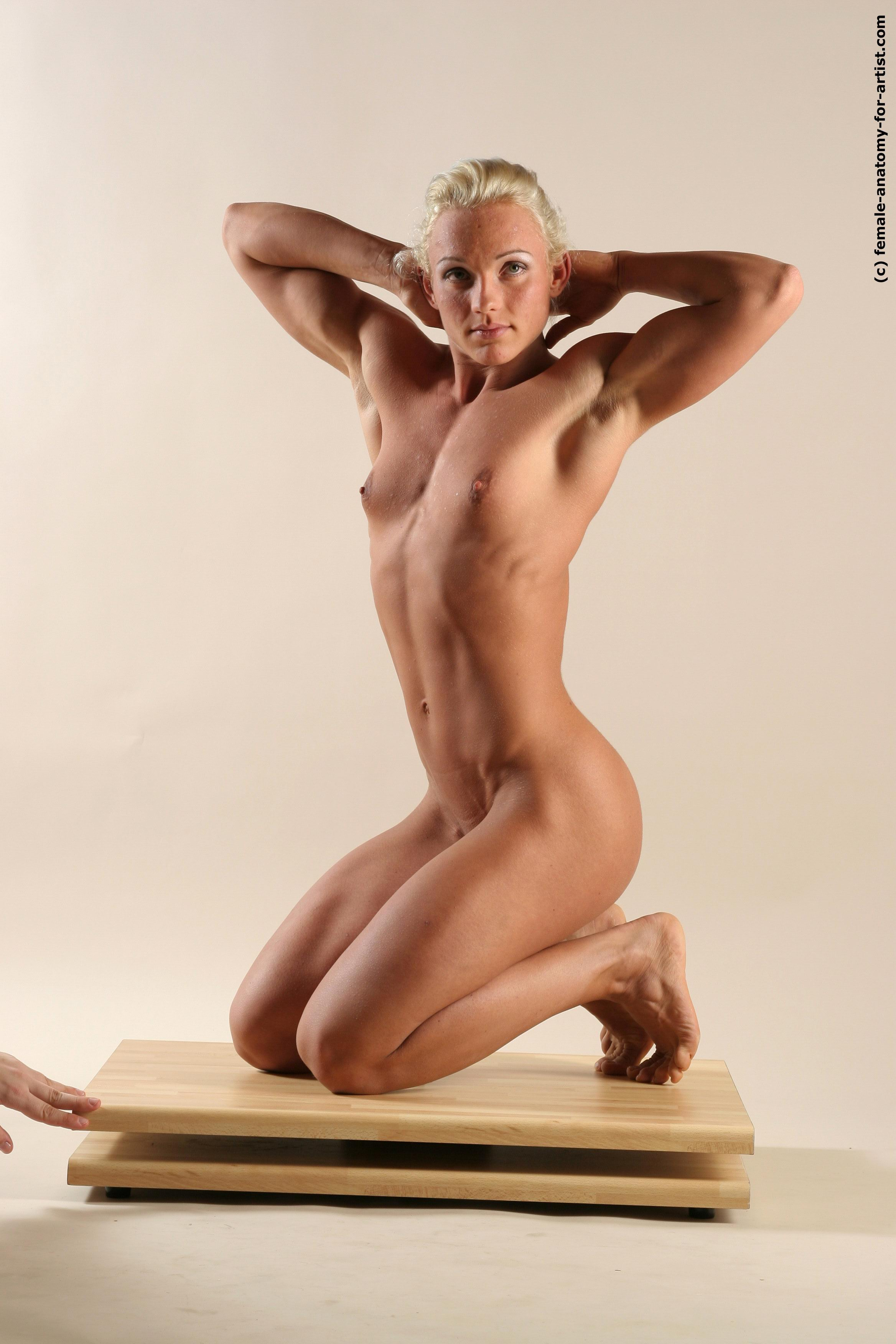 Nude 3 d female art naked scene