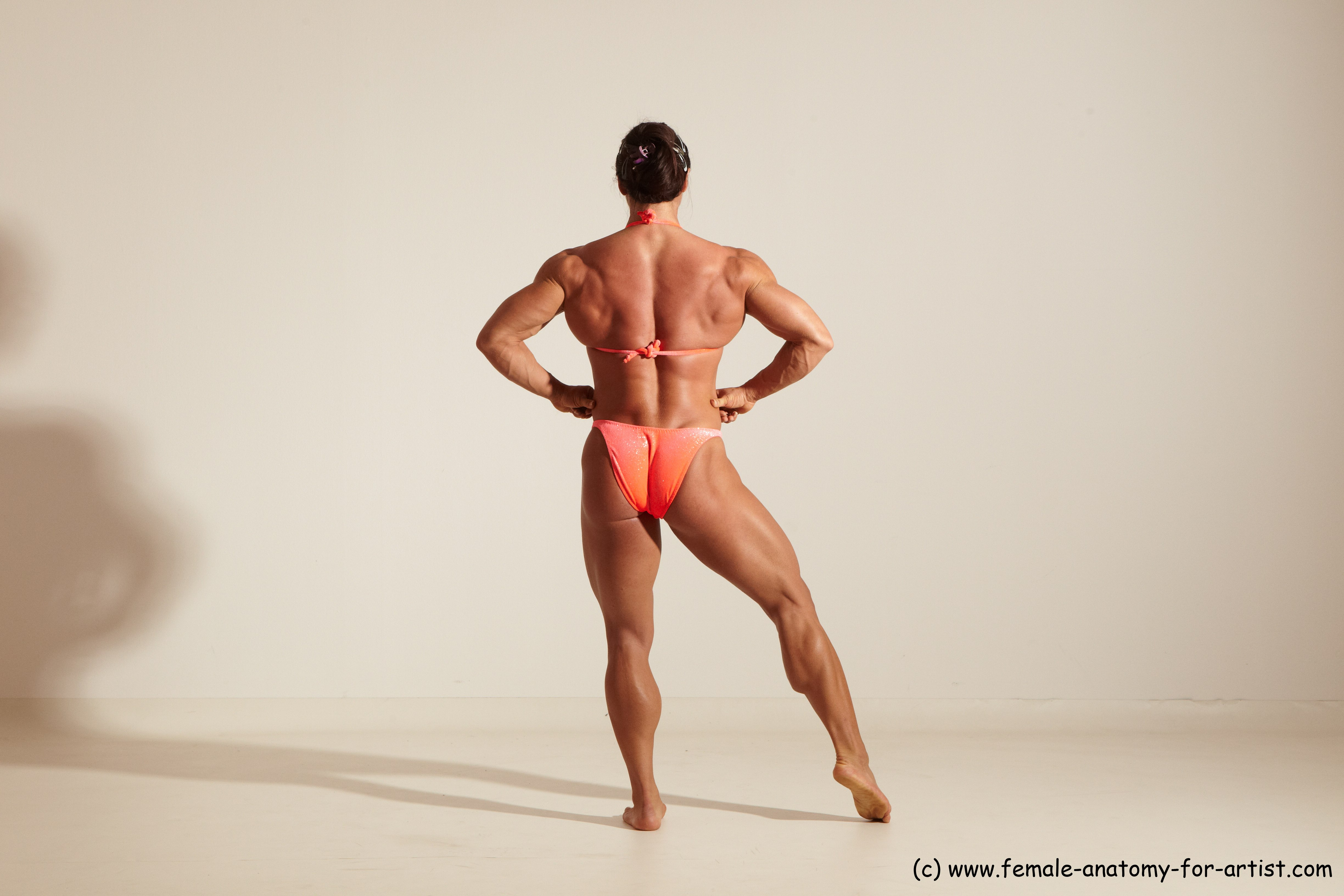 Angelina Bodybuilder | Anatomy References for Artists