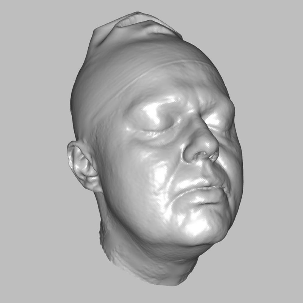 Romana - real head 3D scan | Anatomy References for Artists